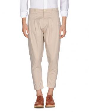 Повседневные брюки CHOICE NICOLA PELINGA. Цвет: бежевый