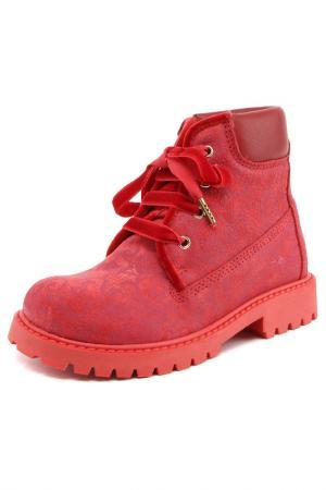 Ботинки Twin-Set Simona Barbieri. Цвет: красный