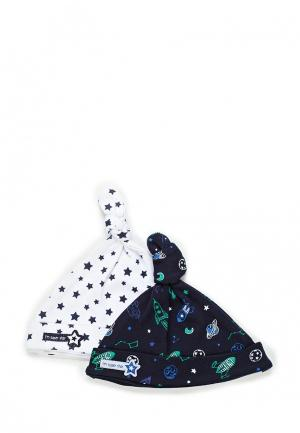 Комплект шапок 2 шт. Maloo. Цвет: разноцветный