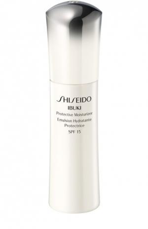 Дневная защитная увлажняющая эмульсия iBuki Shiseido. Цвет: бесцветный