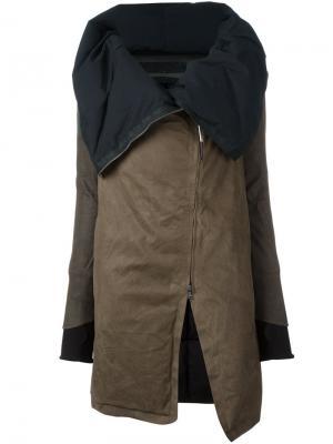Свободное пальто Isaac Sellam Experience. Цвет: зелёный