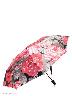Зонт Flioraj. Цвет: розовый, черный, серый