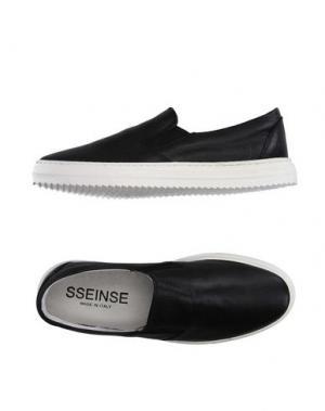Низкие кеды и кроссовки SSEINSE. Цвет: черный