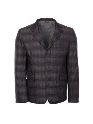 Куртка DKNY. Цвет: темно-серый