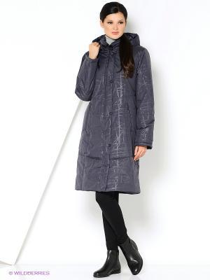 Пальто BARBI Maritta. Цвет: антрацитовый
