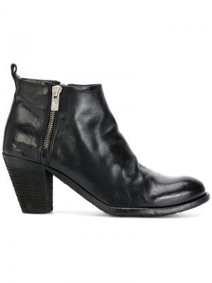 Ботинки Ignis Officine Creative. Цвет: чёрный