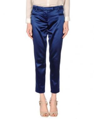 Повседневные брюки FABERGE&ROCHES. Цвет: синий