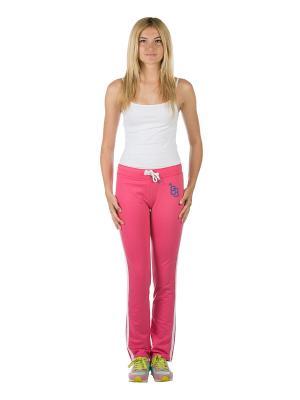 Спортивные брюки Colin's. Цвет: розовый