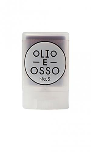 Бальзам для щек и лица no 5 Olio E Osso. Цвет: фиолетовый