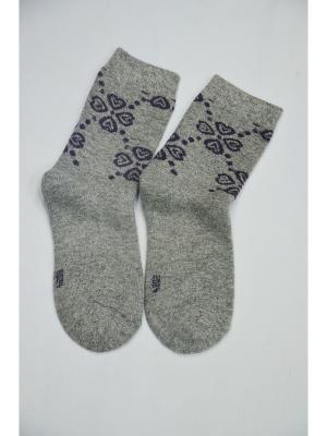 Носки ВАЛЕНТИНА СТИЛЬ. Цвет: серый