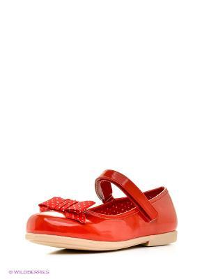 Туфли Mursu. Цвет: красный