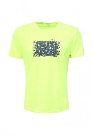 Футболка спортивная Li-Ning. Цвет: желтый