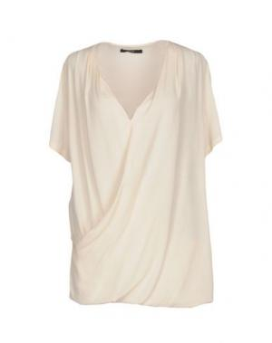 Блузка G.SEL. Цвет: бежевый