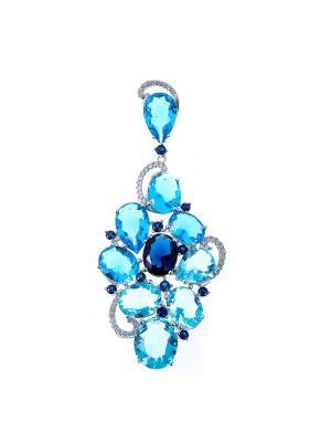 Подвеска Teosa. Цвет: синий,голубой