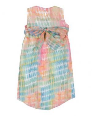 Платье MICROBE. Цвет: светло-зеленый