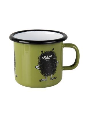 Moomin Кружка эмалированная Retro, Стинки, 250 мл Muurla. Цвет: зеленый