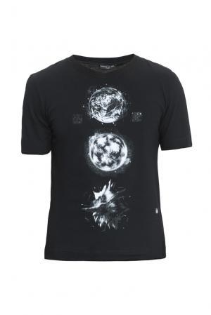 Футболка MGU02 PLANETS Mode De Vie. Цвет: черный
