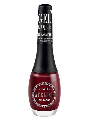 Гель-лак для ногтейNail Atelier тон 139, 12мл Vivienne Sabo. Цвет: бордовый
