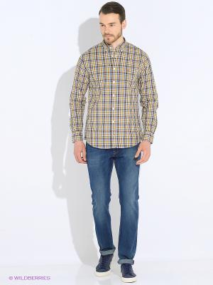 Рубашка Tommy Hilfiger. Цвет: коричневый