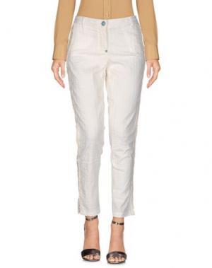 Повседневные брюки WHITE SAND 88. Цвет: слоновая кость