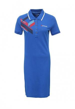 Платье Forward. Цвет: синий