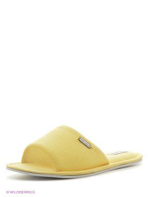 Тапочки De Fonseca. Цвет: желтый