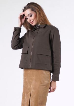 Куртка OKS by Oksana Demchenko. Цвет: хаки