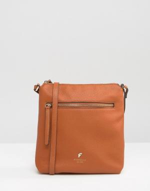 Fiorelli Маленькая сумка через плечо Logan. Цвет: рыжий