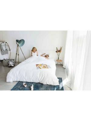 Комплект постельного белья Завтрак 200х220см SNURK. Цвет: белый, темно-бежевый, кремовый