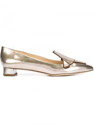 Туфли-лодочки Gall Tron Jerome Rousseau. Цвет: металлический