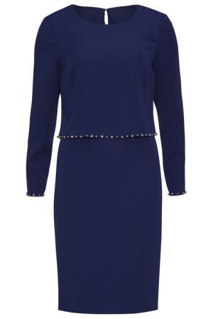 Платье Gina Bacconi. Цвет: синий