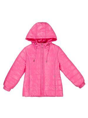 Куртка SAIMA. Цвет: розовый
