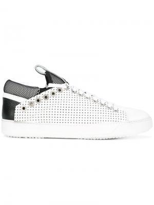 Сетчатые кроссовки Bruno Bordese. Цвет: белый