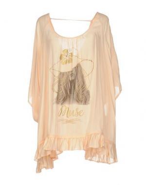 Блузка AU SOLEIL DE SAINT TROPEZ. Цвет: абрикосовый