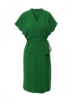 Платье Topshop. Цвет: зеленый