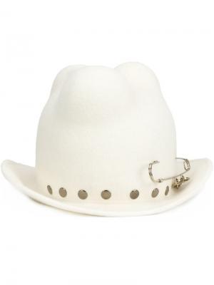 Шляпа Dfor Barbara Bologna. Цвет: белый