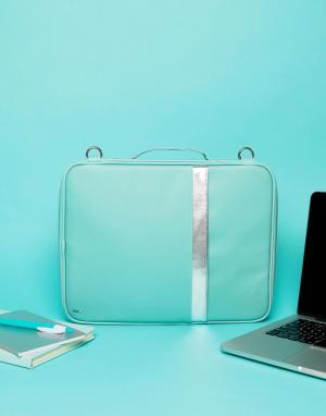 TYPO Бирюзовая сумка для ноутбука. Цвет: мульти