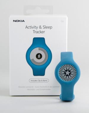 Nokia Синий фитнес-трекер WAM02. Цвет: синий