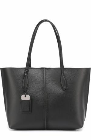 Сумка-шоппер Medium Joy Tod's. Цвет: черный