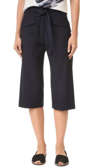 Юбка-брюки Edi Zero + Maria Cornejo. Цвет: чернильный