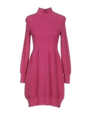 Короткое платье NIOI. Цвет: пурпурный
