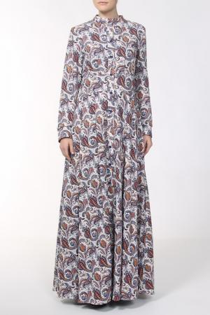 Платье Стеллина NATALIA PICARIELLO. Цвет: белый