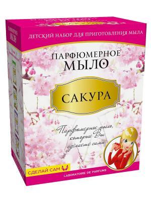 Мыло парфюмированное Сакура Master IQ2. Цвет: розовый