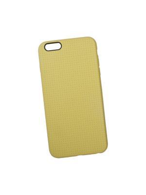 Силиконовый чехол LP для iPhone 6/6s Plus мелкая точка (желтый/коробка) Liberty Project. Цвет: желтый