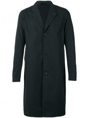 Классическое пальто средней длины Stutterheim. Цвет: чёрный