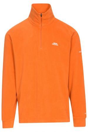 Толстовка Trespass. Цвет: оранжевый