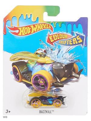 Машинка, изменяющая цвет Hot Wheels. Цвет: оливковый