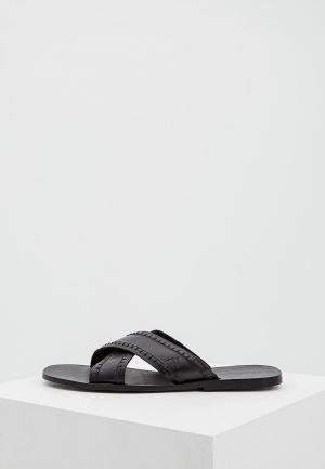 Сандалии Trussardi Jeans. Цвет: черный