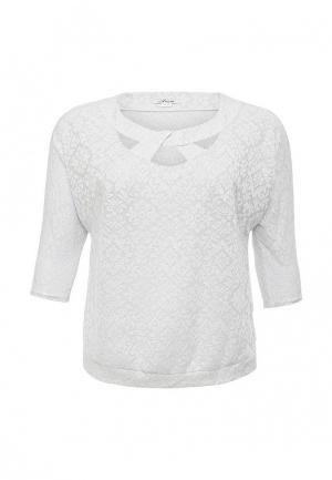 Блуза Silver String. Цвет: серебряный