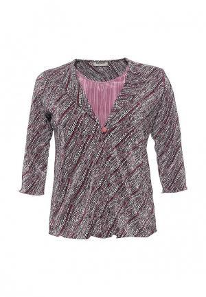 Блуза Bassini. Цвет: розовый